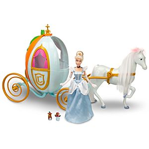 Disney Princess Cinderella Doll and Carriage