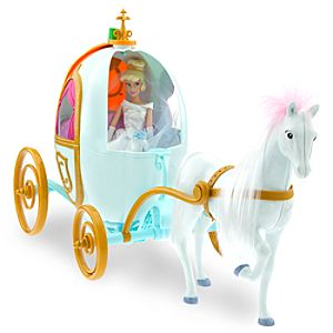 Disney Princess Cinderella Doll and Happily Ever After Carriage Set