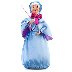 Cinderella Fairy Godmother Doll -- 11 H