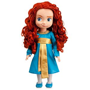 "Toddler Brave Merida Doll - 16"" H"