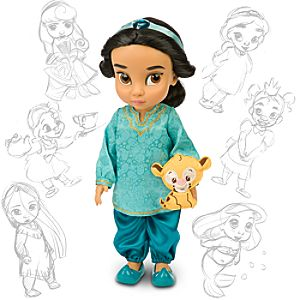 Disney Animators Collection Jasmine Doll -- 16 H