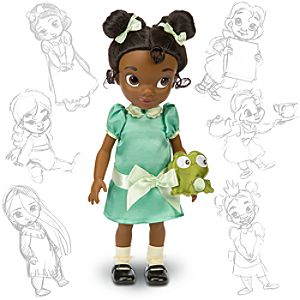 Disney Animators Collection Tiana Doll -- 16 H