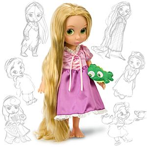 Disney Animators Collection Rapunzel Doll -- 16 H