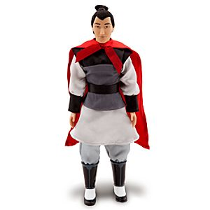Mulan Classic Li Shang Doll -- 12 H