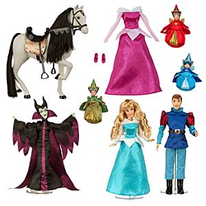 Sleeping Beauty Deluxe Doll Set