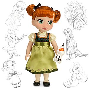 Disney Animators Collection Anna Doll - Frozen - 16