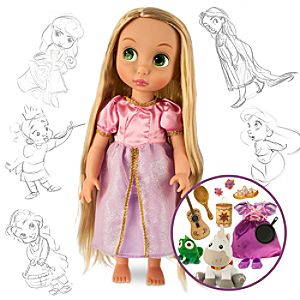 Rapunzel Doll Gift Set - Disney Animators Collection - 16