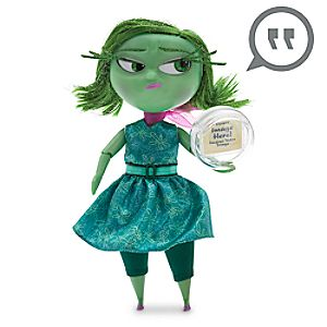 Disgust Deluxe Talking Doll - Disney•Pixar Inside Out - 9 1/2 H