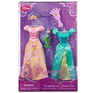 Tangled Rapunzel Wardrobe and Friends Set -- 5-Pc.