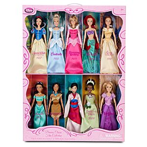 Classic Disney Princess Doll Collection -- 12 H -- 10-Pc.