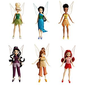 Disney Fairies Doll Set -- 5 H -- 5-pc.