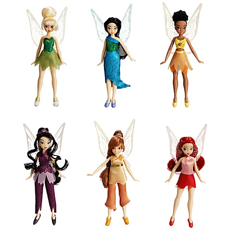 Disney Fairies Doll Set -- 5-pc.