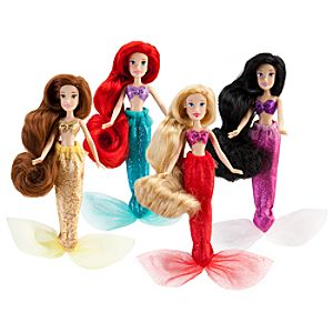Mini Disney Princess Doll Set #3 -- 4-Pc.
