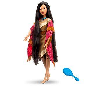 Singing Pocahontas Doll -- 17 H