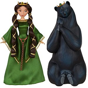 Queen Elinor Transforming Doll Set - Brave