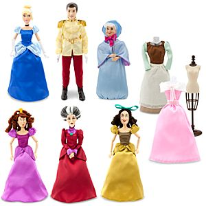 Cinderella Doll Gift Set