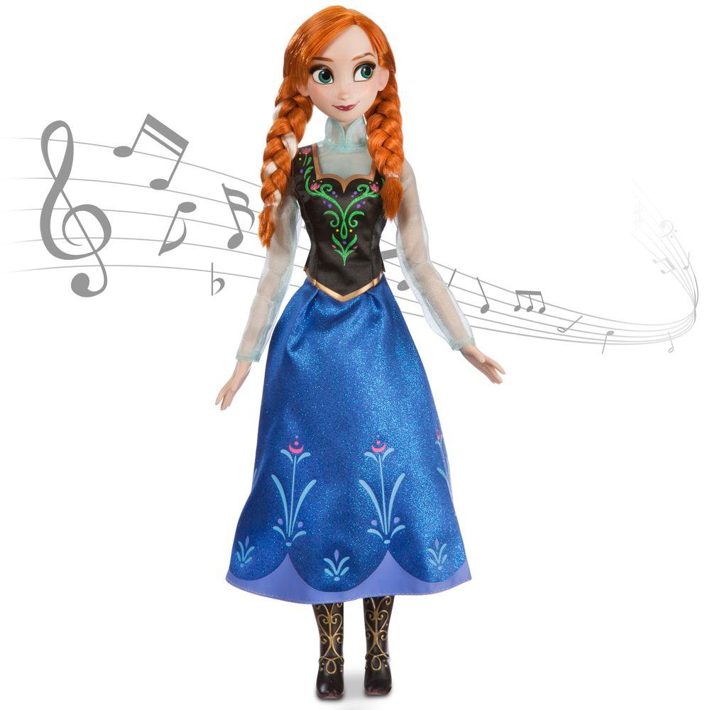 Anna Singing Doll - Frozen