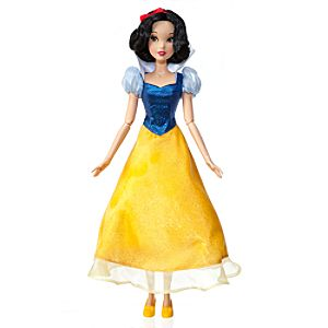 "Singing Snow White Doll -- 17"" H"