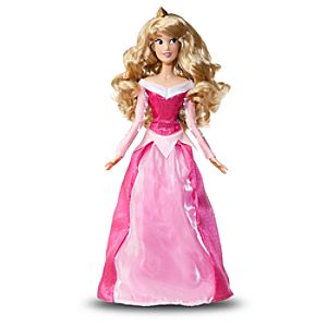 Singing Sleeping Beauty Doll -- 17""