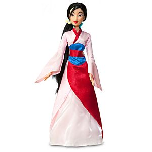 "Singing Mulan Doll -- 17"" H"