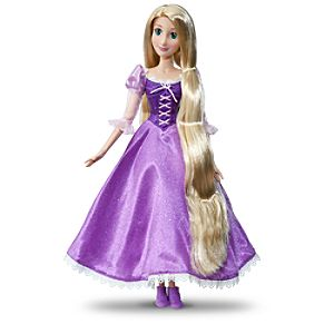 Singing Rapunzel Doll -- 17 H
