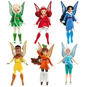 Disney Fairies Doll Set -- 6-Pc.