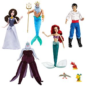 The Little Mermaid Deluxe Doll Gift Set
