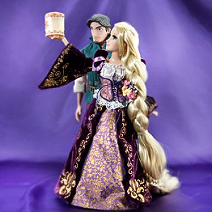 Rapunzel and Flynn Rider Doll Set - Disney Fairytale Designer Collection