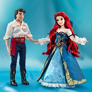 Ariel and Prince Eric Doll Set - Disney Fairytale Designer Collection