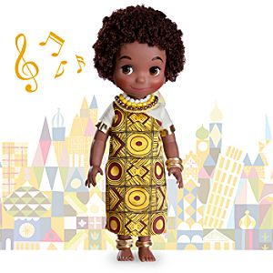 its a small world Kenya Singing Doll - 16