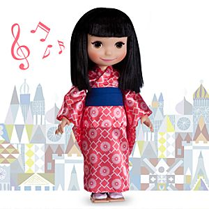 its a small world Japan Singing Doll - 16