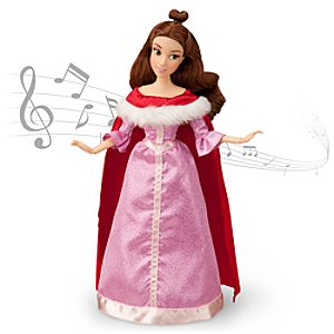 Belle Singing Doll and Costume Set - 11 1/2