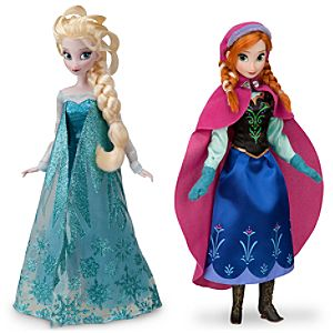 Anna and Elsa Doll Set - Frozen - 12''