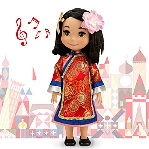 its a small world China Singing Doll - 16