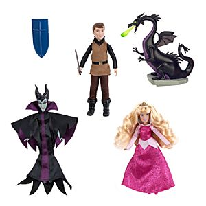 Sleeping Beauty Mini Doll Set