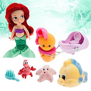 Disney Animators' Collection Ariel Mini Doll Play Set - 5""