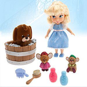 "Disney Animators' Collection Cinderella Mini Doll Play Set - 5"""