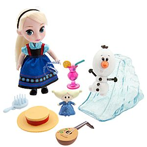 Disney Animators Collection Elsa Mini Doll Play Set - 5