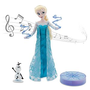 Elsa Deluxe Singing Doll Set - 11