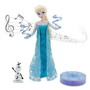 Elsa Deluxe Singing Doll Set - 11