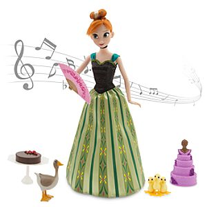 Anna Deluxe Singing Doll Set - 11