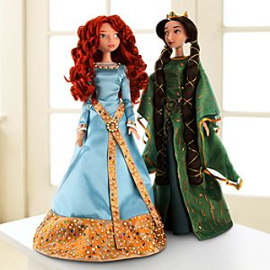 Pre-Order Limited Edition Merida and Queen Elinor Doll Set -- 17 H