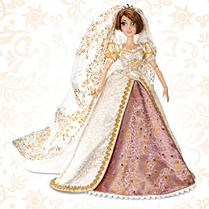 Pre-Order Limited Edition Tangled Ever After Rapunzel Wedding Doll -- 17 H