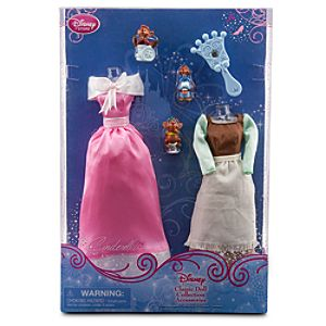 Cinderella Classic Doll Collection Accessory Set -- 6-Pc.