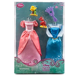 Ariel Classic Doll Collection Accessory Set - 5-Pc