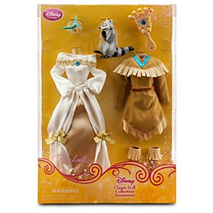 Pocahontas Classic Doll Collection Accessory Set -- 6-Pc.