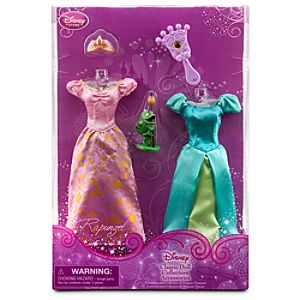 Rapunzel Classic Doll Collection Accessory Set -- 5-Pc.