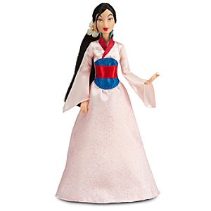 Classic Disney Princess Mulan Doll -- 12 H