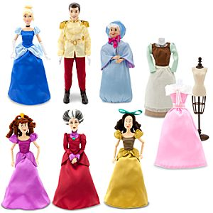Deluxe Cinderella Doll Gift Set