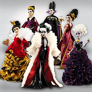 Pre-Order Disney Villains Designer Collection Doll Set -- 6-Pc.